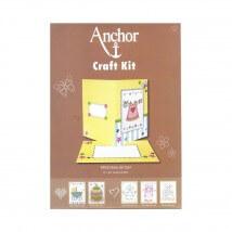 Anchor Craft Kit Baby Girl Kız Bebek Kart Kiti - RDK 32