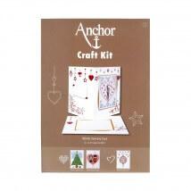 Anchor Craft Kit Sevgililer Günü Kart Kiti - RDK 50