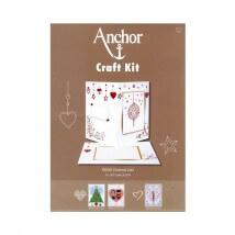 Anchor Craft Kit Noel Desenli Kart Kiti - RDK 49