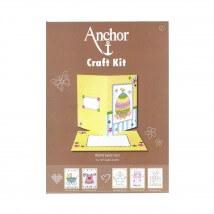 Anchor Craft Kit Paskalya Desenli Kart Kiti - RDK 33