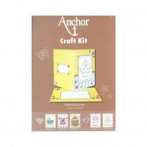 Anchor Craft Kit Baby Boy Erkek Bebek Kart Kiti - RDK 41