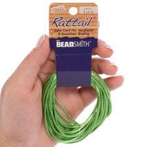 Bead Smith 1mm 5.48m Yeşil Saten Kordon İp - Rtag0-R