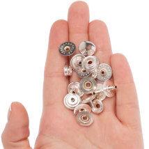 Create Recklessly 20'li Gümüş Kaplama Deri Çıtçıtı