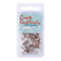 Create Recklessly 3.32X1.4 48 Adet Antik Gümüş Deri Çıtçıtı- Cr907As-R