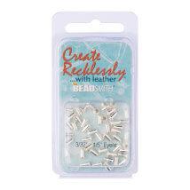 Create Recklessly 3.32X1.5 48 Adet Gümüş Rengi Deri Çıtçıtı- Cr906Sp-R