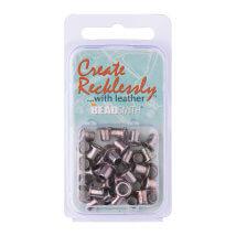 Create Recklessly 3/16 36 Adet Antik Gümüş Deri Çıtçıtı- Cr918As-R