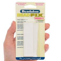 Bead Smith Beadalon Beadfix 2.5X2.5cm Takı Işi Yapıştırıcı Kareler