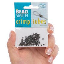 Bead Smith 2.5mm 100 Adet Siyah Oksit Bit Takı Boncuğu - Tcb25B-R