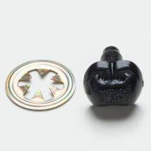 Hobium 10mm Siyah 1 Adet Amigurumi Burun