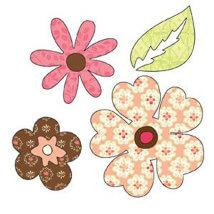 Sizzix Çiçekler ve Yapraklar Kesici Kalıbı - 656357