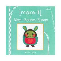 Duftin Make it 10x10 cm Tavşan Desenli Mini Etamin Kiti - MIM011