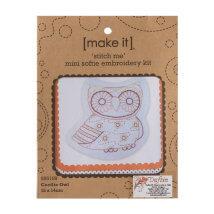 Duftin Make it 15x14,5 cm Baykuş Desenli Nakış Kiti - 585189