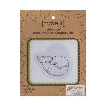 Duftin Make it 15x14 cm Balina Desenli Nakış Kiti - 585190