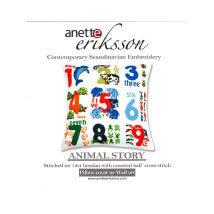 Duftin 50x50 Cm Harf Desenli Yastık Nakış Kiti - 04024-aa1083
