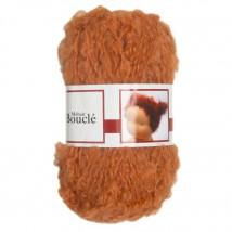 De Witte Engel Boucle 50 gram Turuncu Bebek Saçı Örgü İpi  - H04540