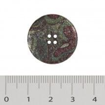 Hobium Büyük Boy Simli Ebruli Fantazi Düğme