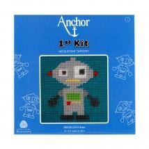 Anchor Robot Desenli Çocuk Nakış Kiti - 3690000-20019