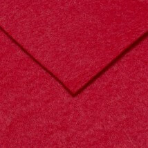 Hobium 50x50 cm 2 mm Kırmızı Sentetik Keçe - 180-5