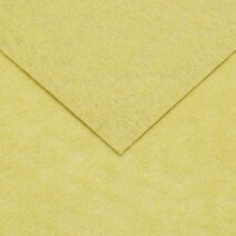 Hobium 50x50 cm 1 mm Açık Sarı Sentetik Keçe - 160-36