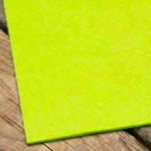 La Mia 50X50 cm 3 mm Neon Yeşil Sentetik Keçe - M51