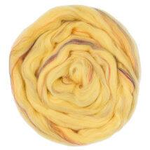 Gazzal Felt Wool Lurex Bej Ebruli Yün Keçe - 6005