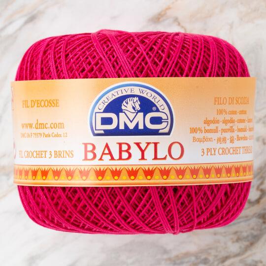 Dmc Babylo 50gr Fuşya Merserize Dantel ve Ağ İpliği No:10 - 600
