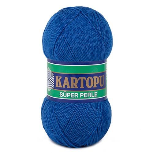 Kartopu 5'li Paket Süper Perle Koyu Mavi El Örgü İpi - K530