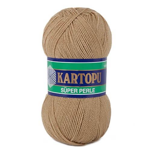 Kartopu Süper Perle Bej El Örgü İpi - K837