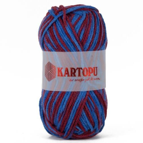 Kartopu 5'li paket Taraftar Trabzonspor Ebruli El Örgü İpi - D2061