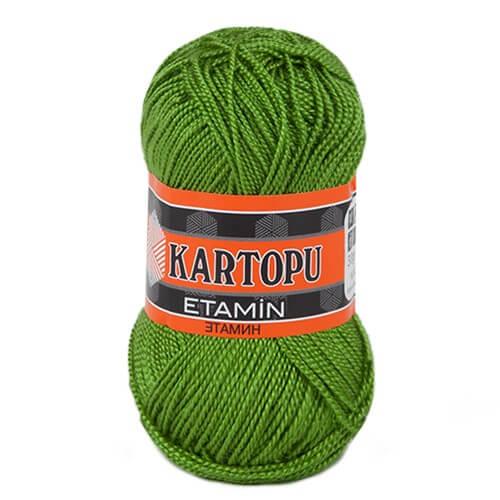 Kartopu Etamin 30gr Yeşil Nakış İpliği - K392