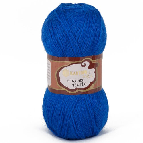 Kartopu 5'li paket Firenze Tiftik Mavi El Örgü İpi - K627