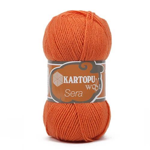 Kartopu Sera Turuncu El Örgü İpi - K252
