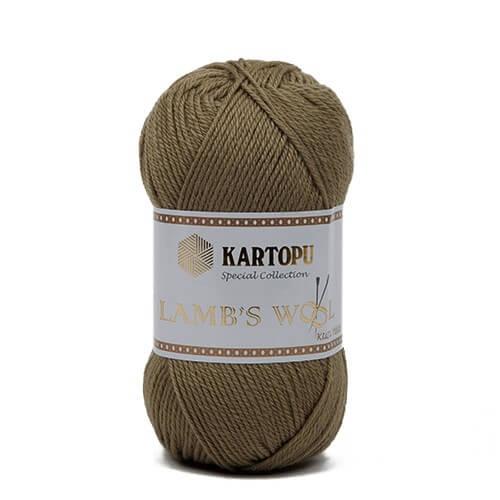 Kartopu 5'li paket Lamb's Wool Yeşil El Örgü İpi - K372