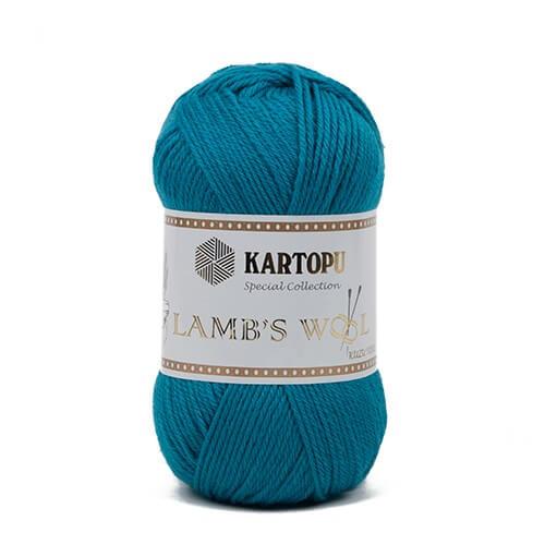 Kartopu 5'li paket Lamb's Wool Mavi El Örgü İpi - K542