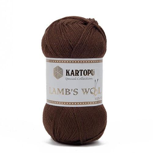 Kartopu 5'li paket Lamb's Wool Kahverengi El Örgü İpi - K892