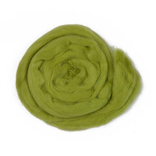 Kartopu Zeytin Yeşili Yün Keçe - K442