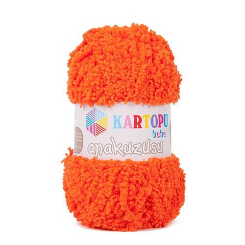 Kartopu Anakuzusu Turuncu Bebek Yünü - K210