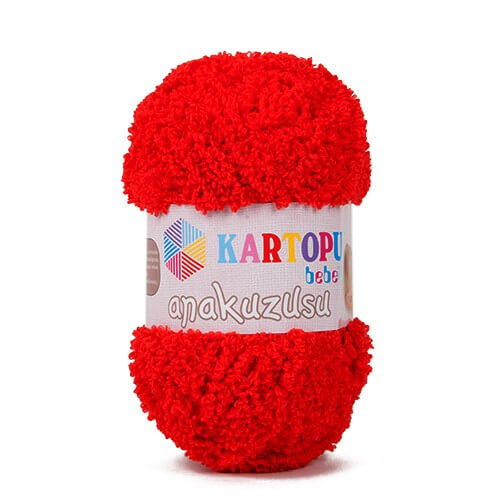 Kartopu Anakuzusu Kırmızı Bebek Yünü - K150