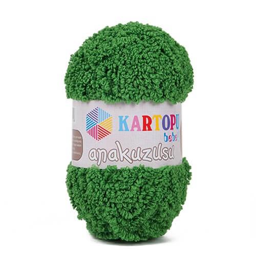 Kartopu Anakuzusu Yeşil Bebek Yünü - K392