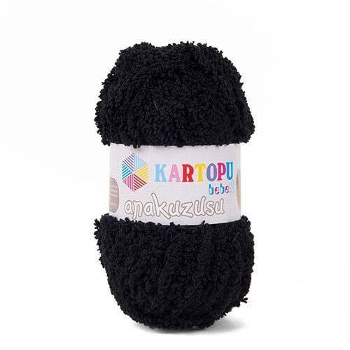 Kartopu Anakuzusu Siyah Bebek Yünü - K940