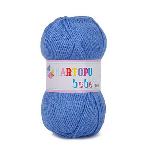 Kartopu 5'li paket Bebe Mavi Bebek Yünü - K535
