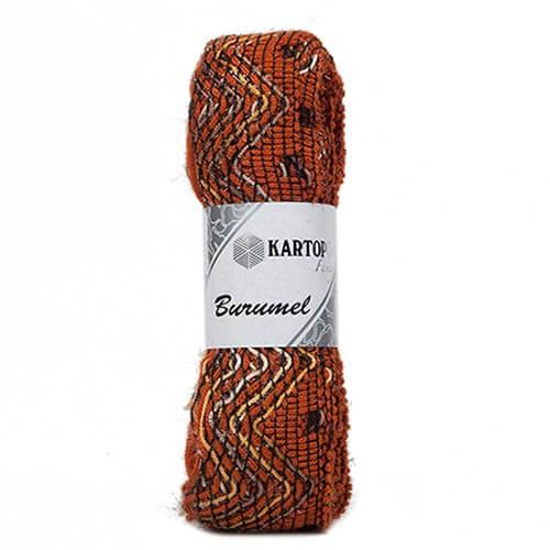 Kartopu 5'li Paket Burumel Ebruli El Örgü İpi - K267