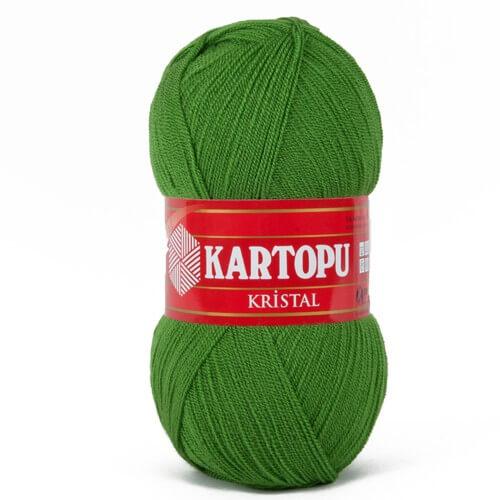 Kartopu Kristal Yeşil El Örgü İpi - K392