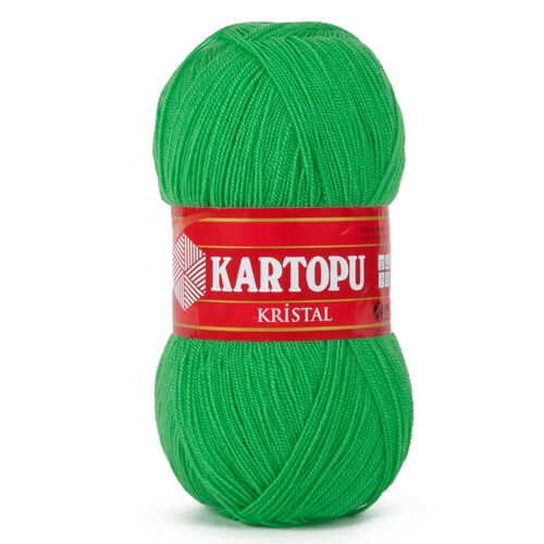 Kartopu Kristal Yeşil El Örgü İpi - K446