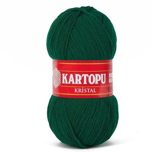 Kartopu Kristal Zümrüt Yeşili El Örgü İpi - K453