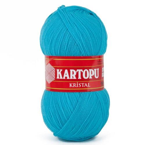 Kartopu Kristal Mavi El Örgü İpi - K515