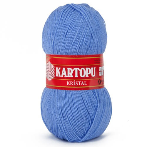 Kartopu Kristal Mavi El Örgü İpi - K535