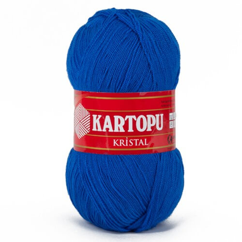 Kartopu Kristal Mavi El Örgü İpi - K627