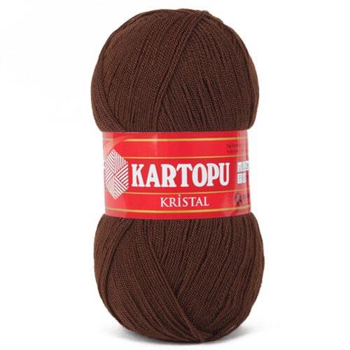 Kartopu Kristal Koyu Kahverengi El Örgü İpi - K890