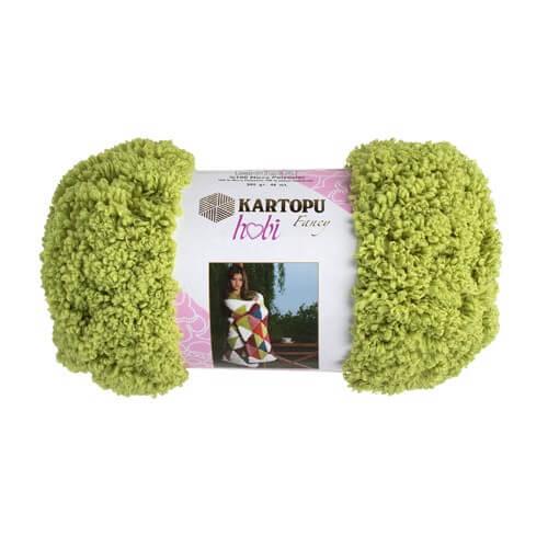Kartopu Hobi Yeşil El Örgü İpi - KF8006